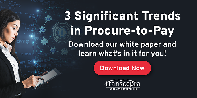 New White Paper: 3 Significant Trends in Procure-to-Pay