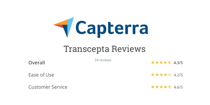 Transcepta Receives Rave Reviews for Customer Service!
