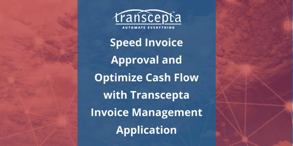 Transcepta invoice management application - Blog Image