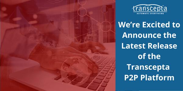 Transcepta - P2P platform release annoucement - Jun2020