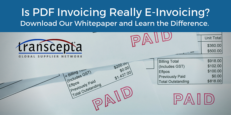 Transcepta Blog Header - PDF Invoicing Really E-Invoicing (1)