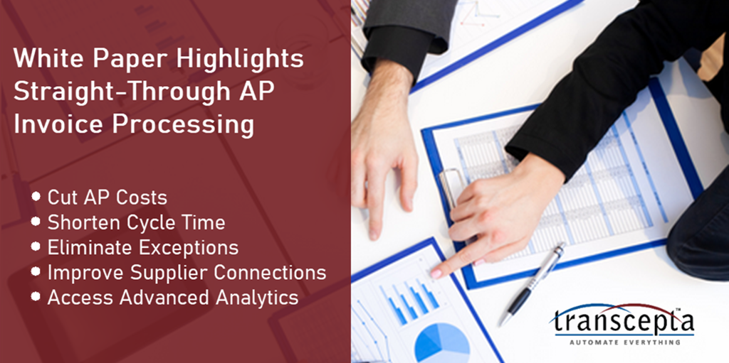 New White Paper: How to Achieve Straight-Through AP Invoice Processing