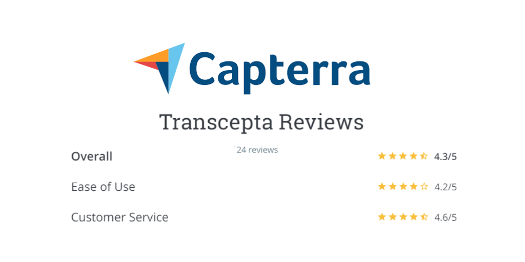 Transcepta Receives Rave Reviews for Customer Service!